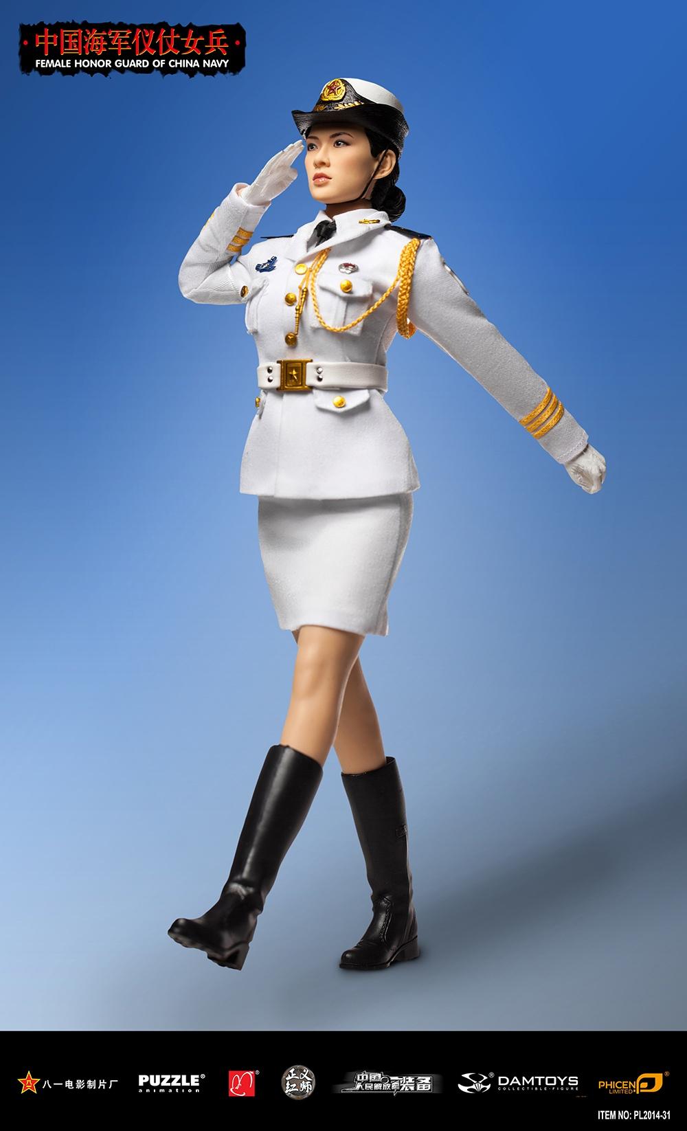 仪仗女兵-海陆空三军