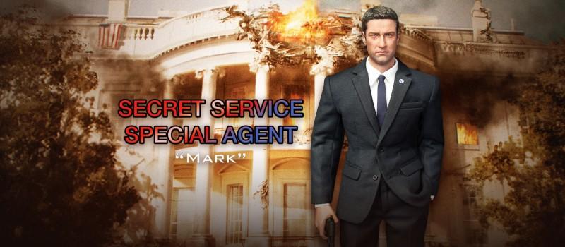 DRAGON IN DREAMS DID 1//6 MODERN US MARK SECRET SERVICE AGENT MA80119