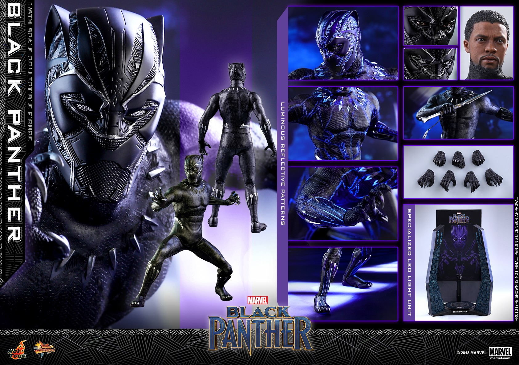 Hot Toys - Black Panther - Black Panther collectible figure_PR30.jpg