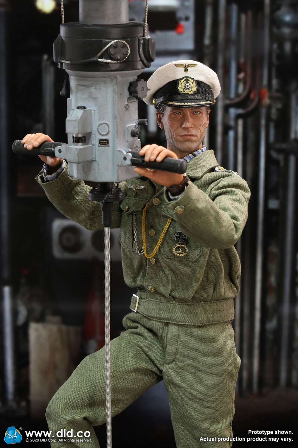 DID E60058 German U-Boat periscope diorama  3.jpg