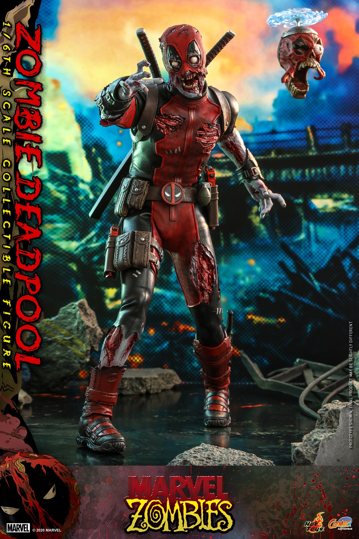 Hot Toys - Marvel Zombie - Zombie Deadpool collectible figure_PR2.jpg