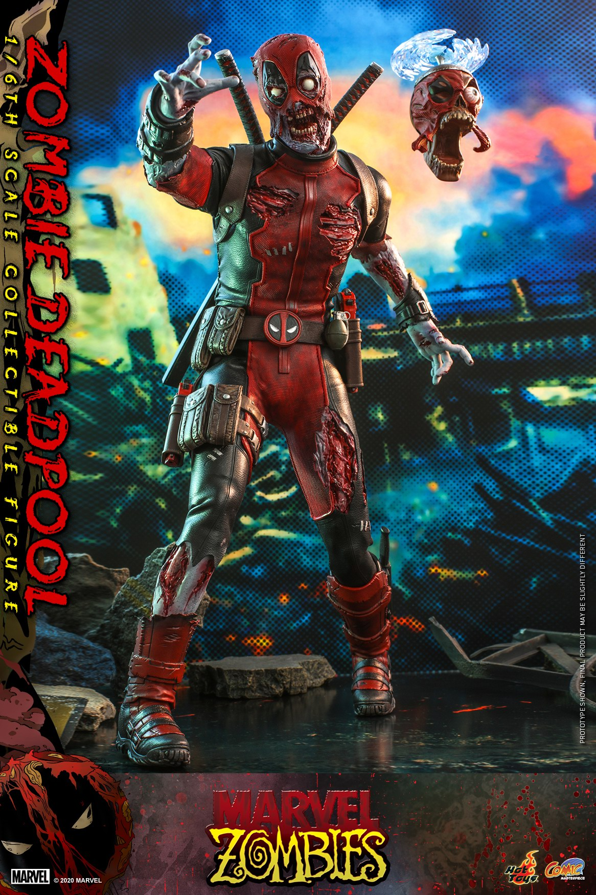 Hot Toys - Marvel Zombie - Zombie Deadpool collectible figure_PR3.jpg
