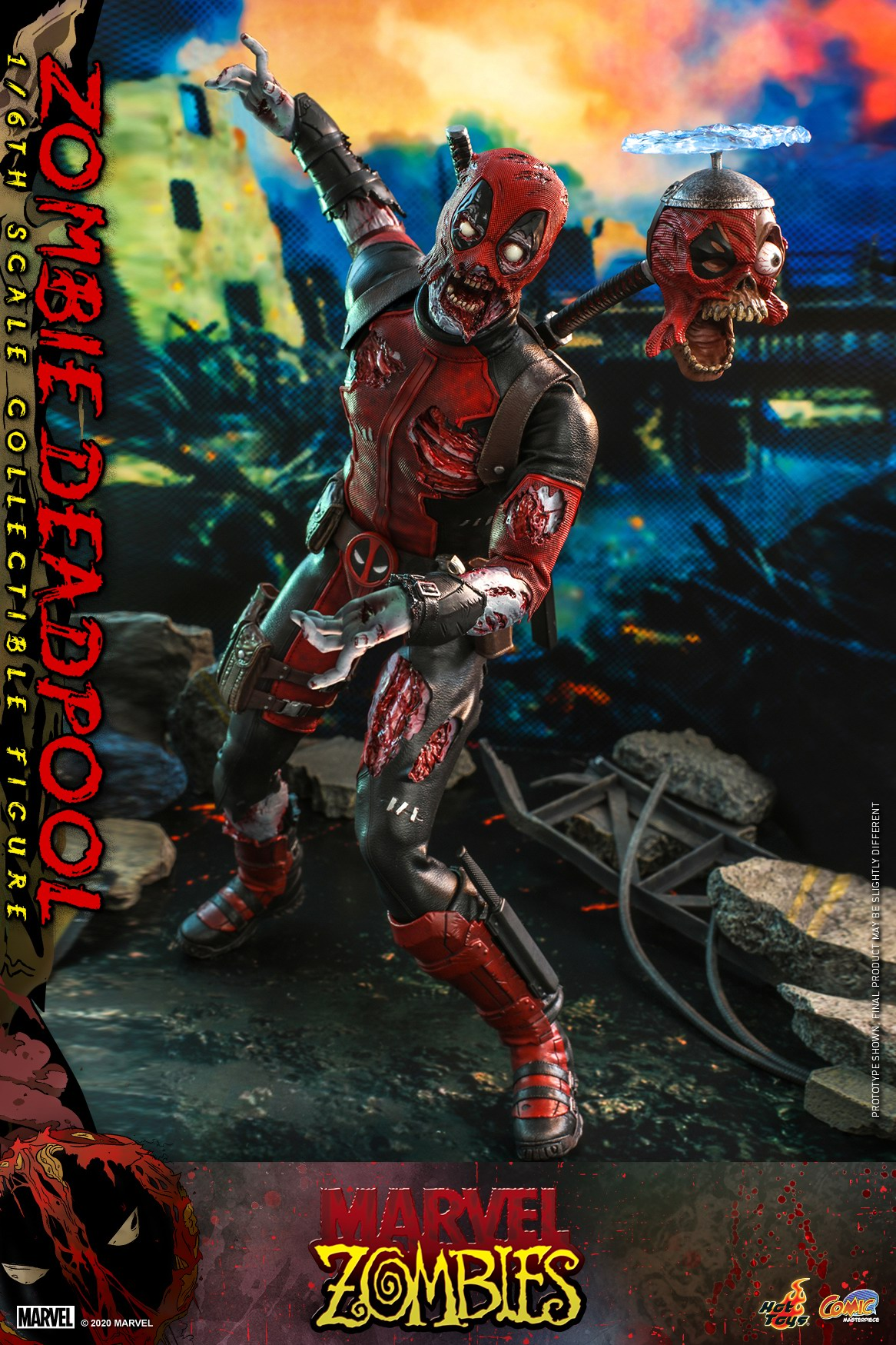 Hot Toys - Marvel Zombie - Zombie Deadpool collectible figure_PR4.jpg