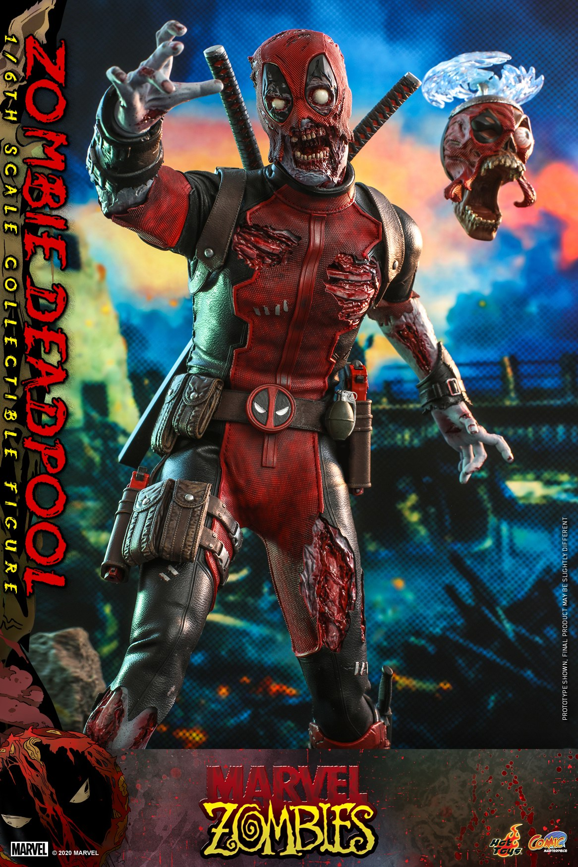 Hot Toys - Marvel Zombie - Zombie Deadpool collectible figure_PR5.jpg