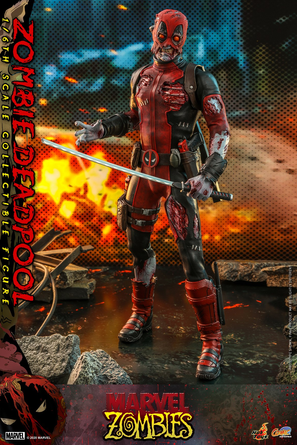 Hot Toys - Marvel Zombie - Zombie Deadpool collectible figure_PR7.jpg