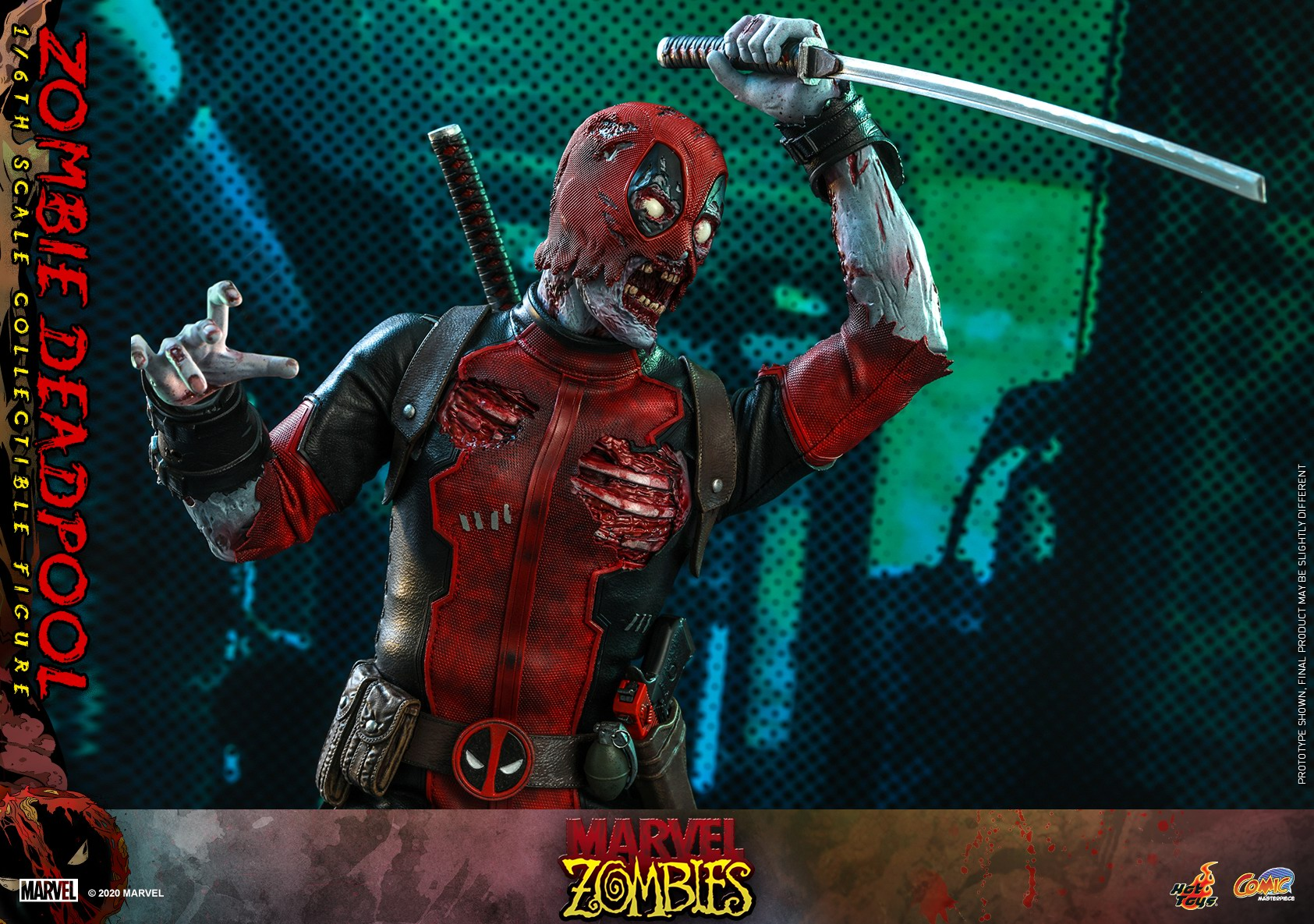 Hot Toys - Marvel Zombie - Zombie Deadpool collectible figure_PR13.jpg