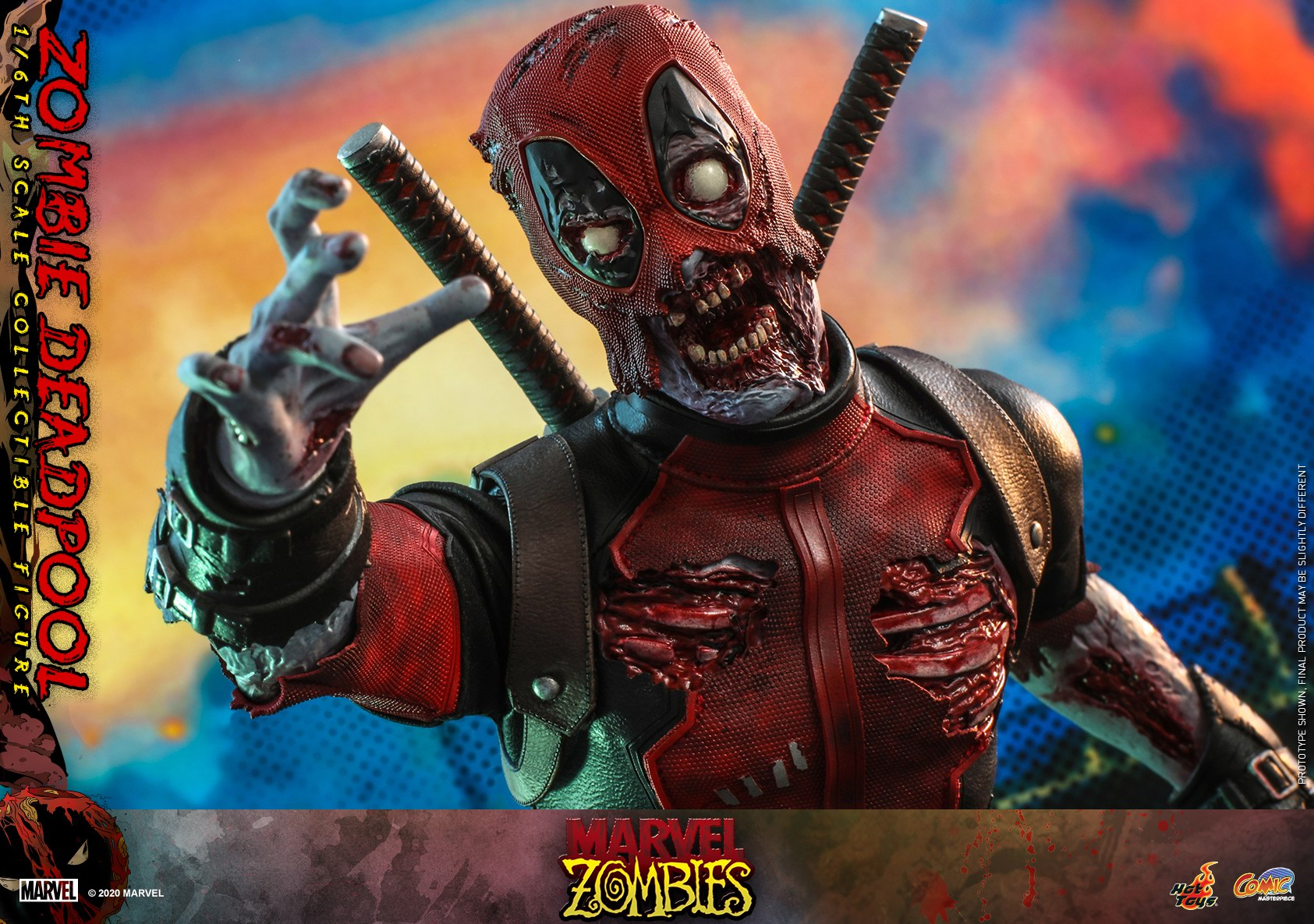 Hot Toys - Marvel Zombie - Zombie Deadpool collectible figure_PR15.jpg