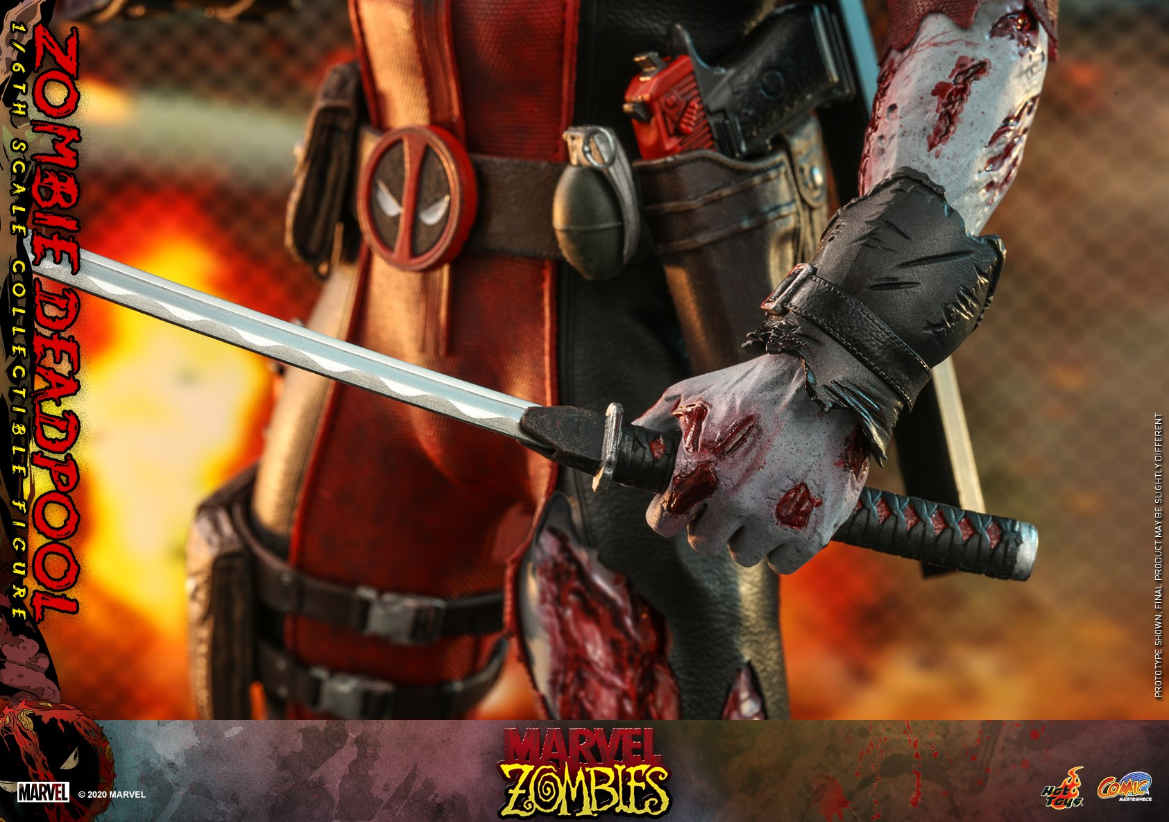 Hot Toys - Marvel Zombie - Zombie Deadpool collectible figure_PR18.jpg