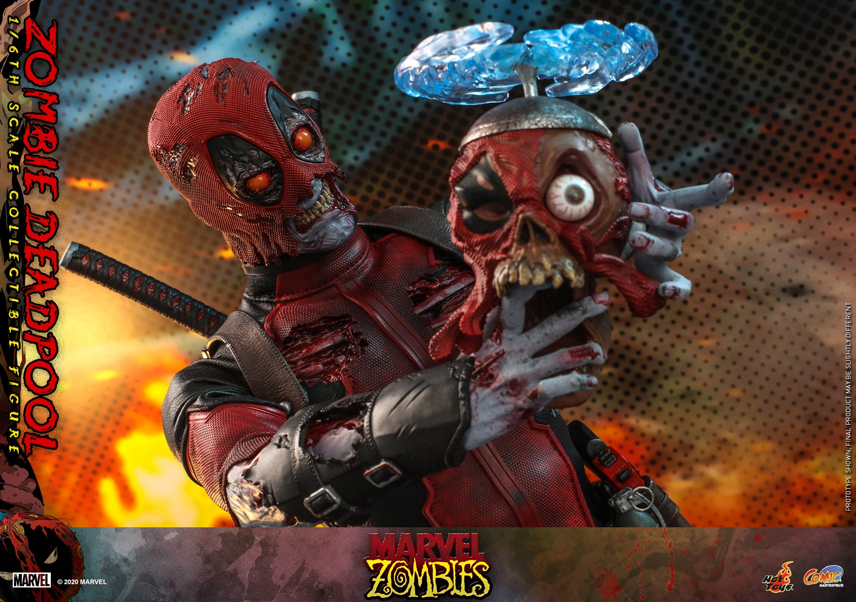 Hot Toys - Marvel Zombie - Zombie Deadpool collectible figure_PR19.jpg