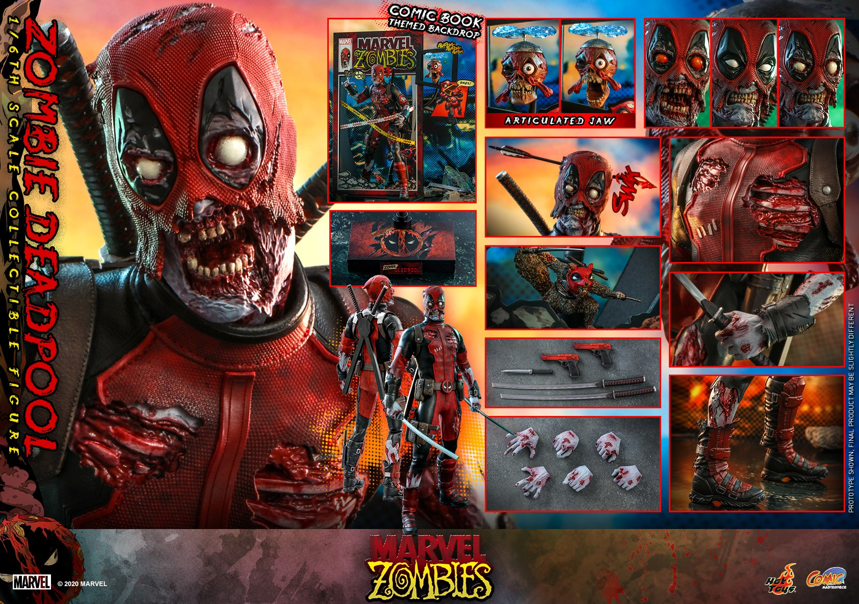 Hot Toys - Marvel Zombie - Zombie Deadpool collectible figure_PR22.jpg