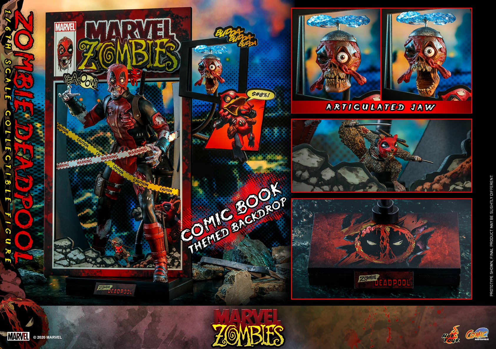Hot Toys - Marvel Zombie - Zombie Deadpool collectible figure_PR23.jpg