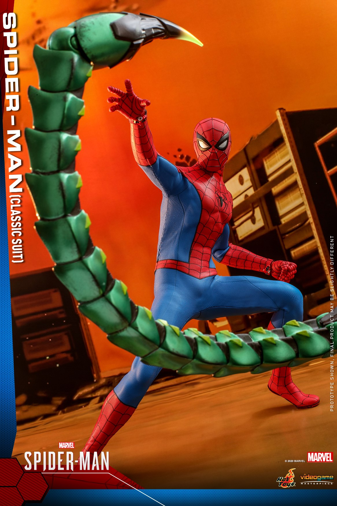 Hot Toys - MSM - Spider-Man (Classic Suit) collectible figure_PR3.jpg