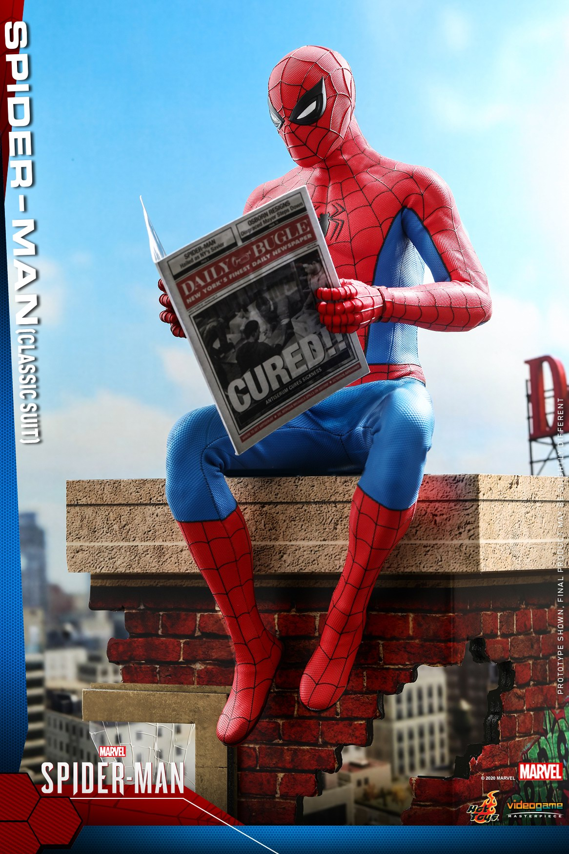 Hot Toys - MSM - Spider-Man (Classic Suit) collectible figure_PR8.jpg