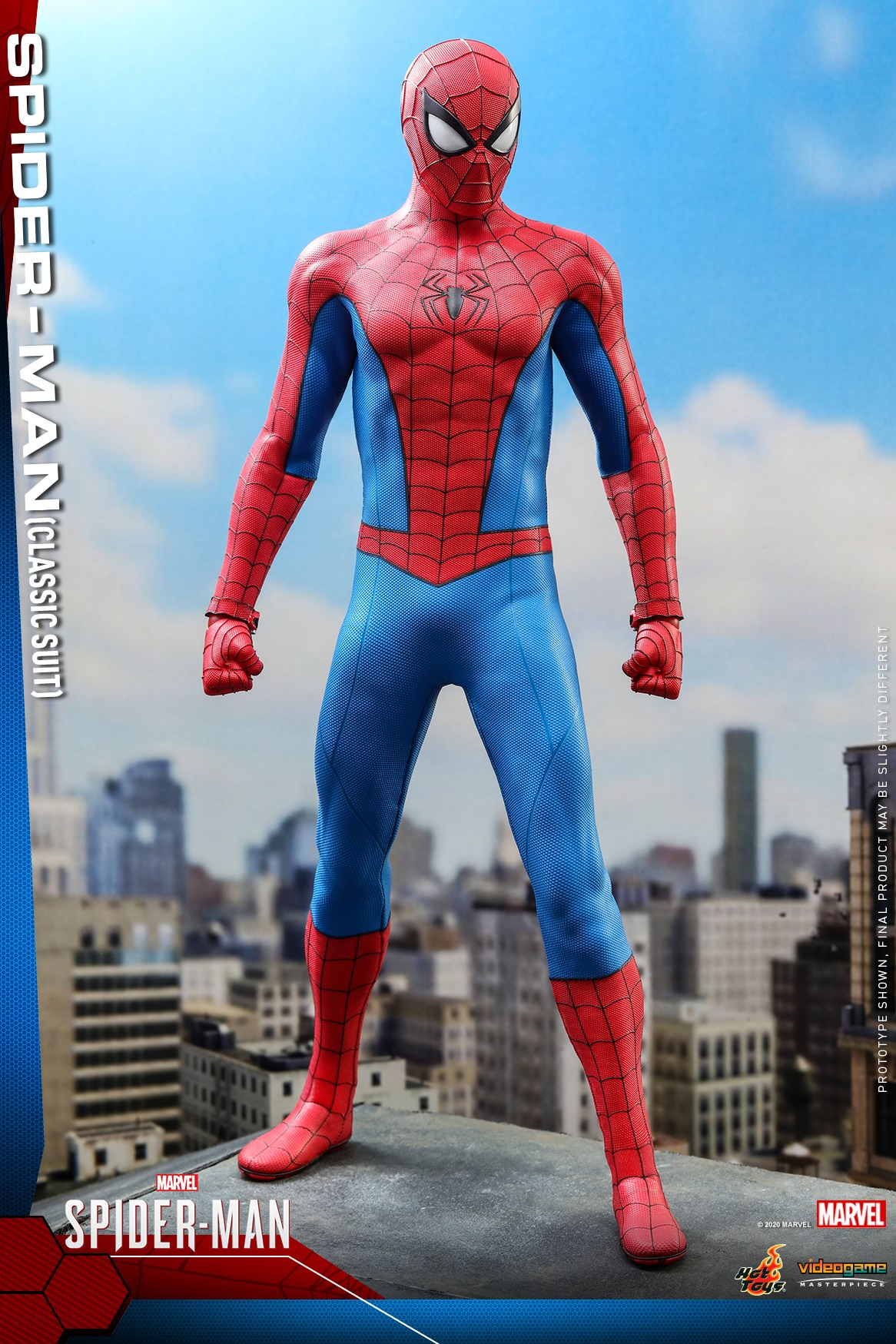 Hot Toys - MSM - Spider-Man (Classic Suit) collectible figure_PR10.jpg