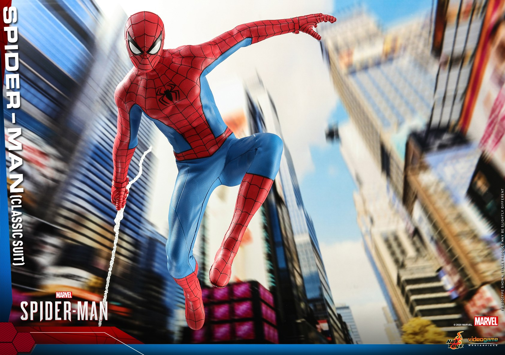 Hot Toys - MSM - Spider-Man (Classic Suit) collectible figure_PR12.jpg