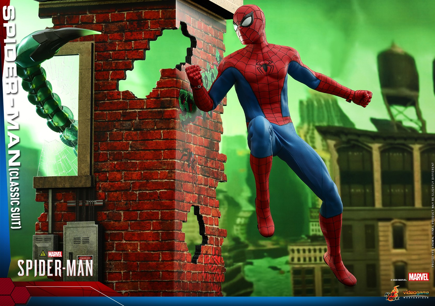 Hot Toys - MSM - Spider-Man (Classic Suit) collectible figure_PR14.jpg