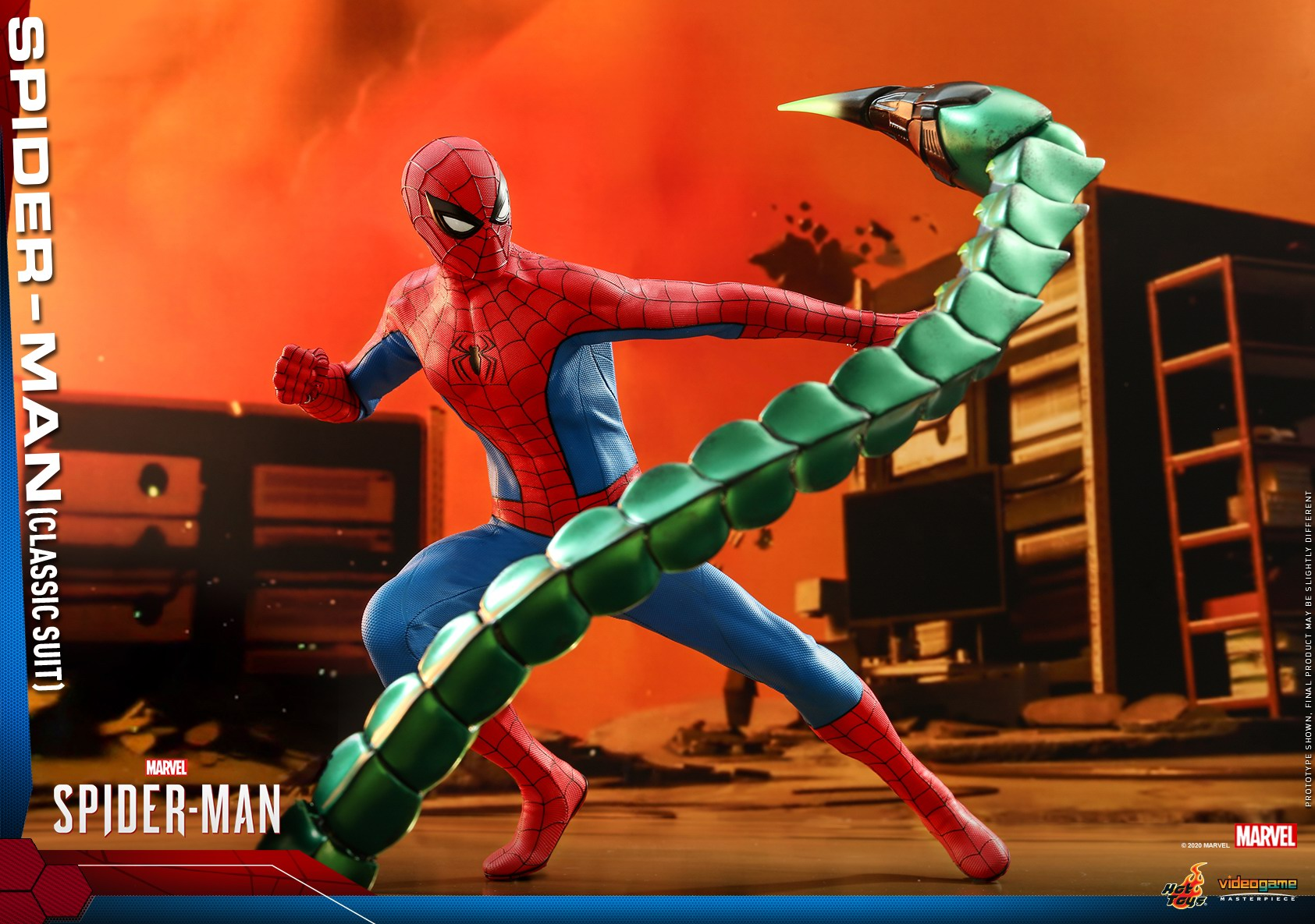 Hot Toys - MSM - Spider-Man (Classic Suit) collectible figure_PR16.jpg