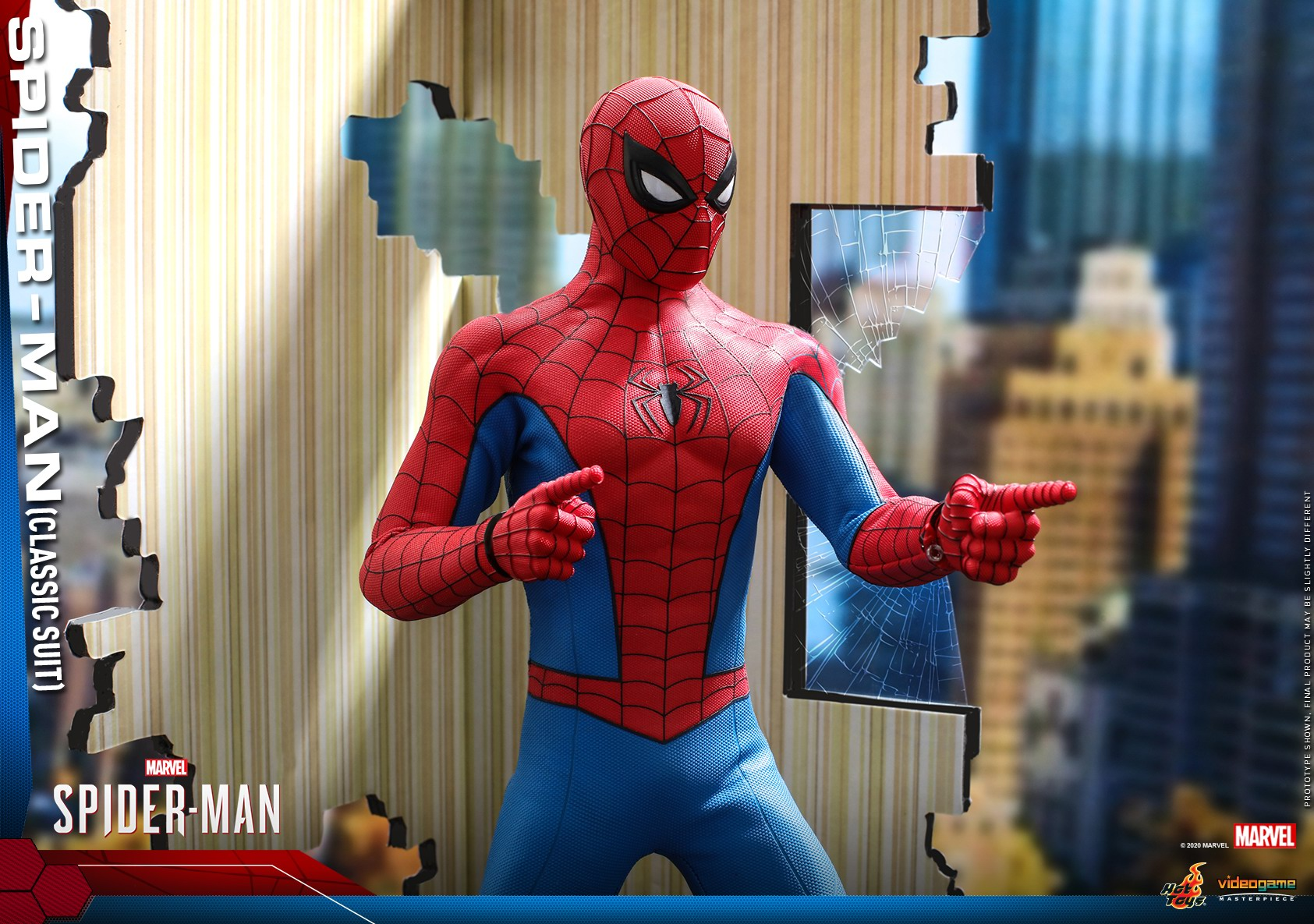 Hot Toys - MSM - Spider-Man (Classic Suit) collectible figure_PR17.jpg