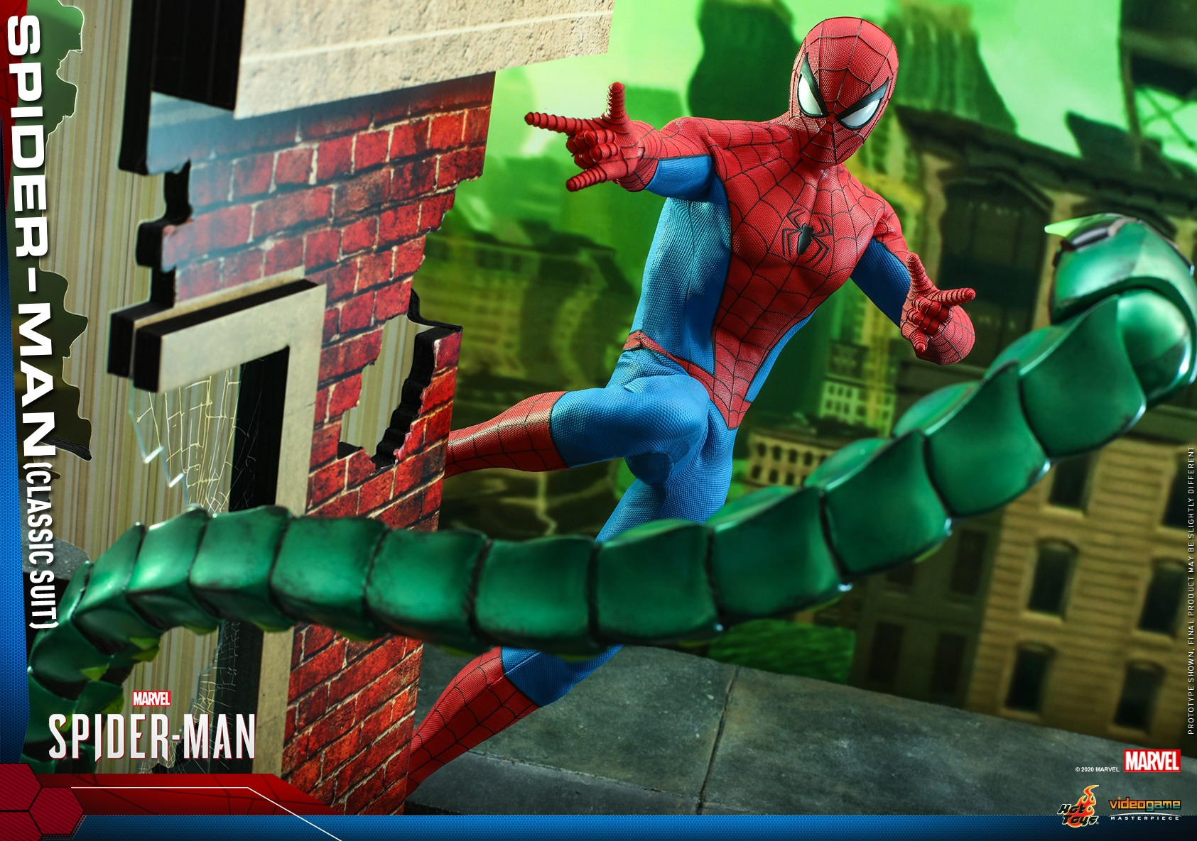 Hot Toys - MSM - Spider-Man (Classic Suit) collectible figure_PR15.jpg