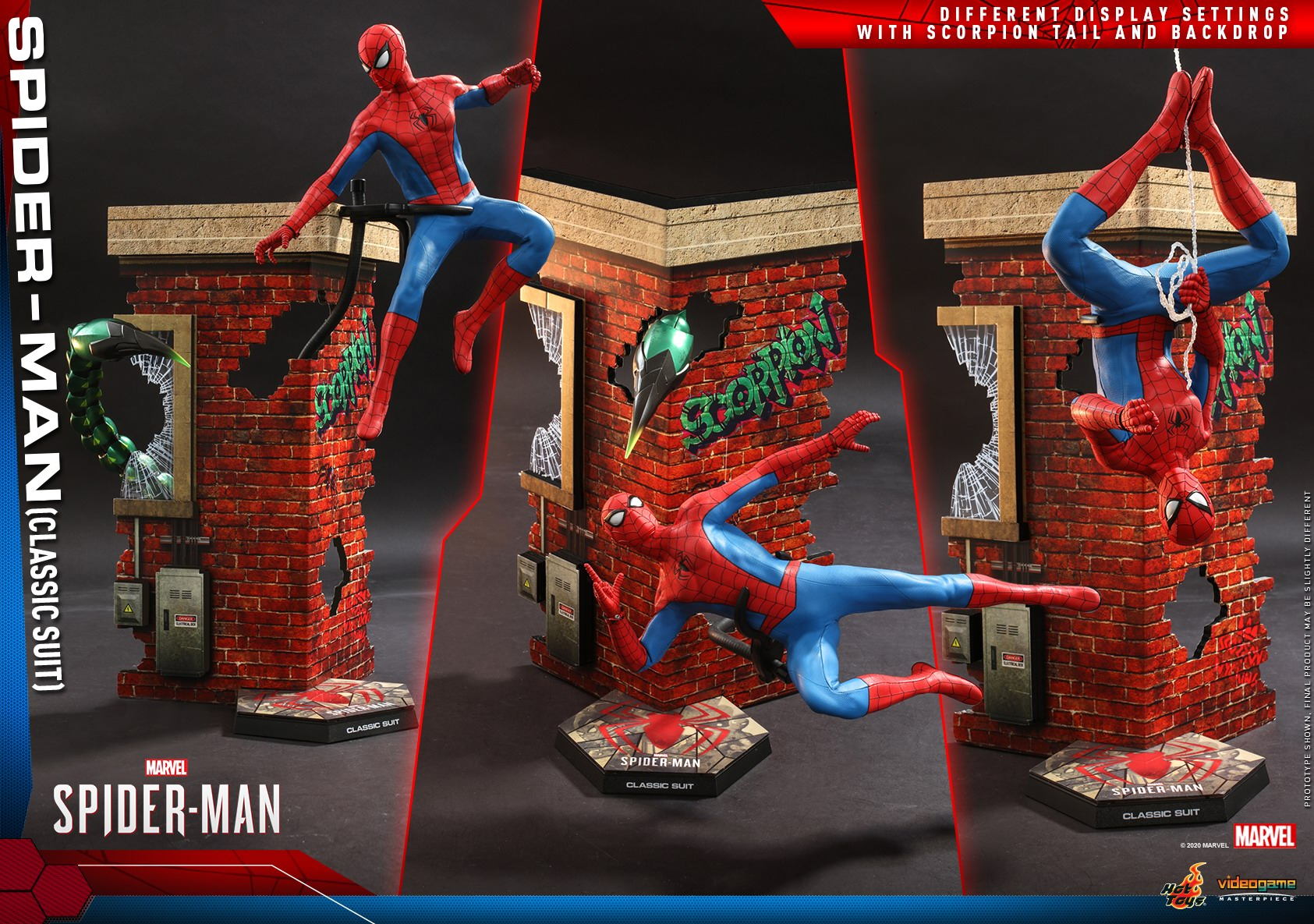 Hot Toys - MSM - Spider-Man (Classic Suit) collectible figure_PR19.jpg