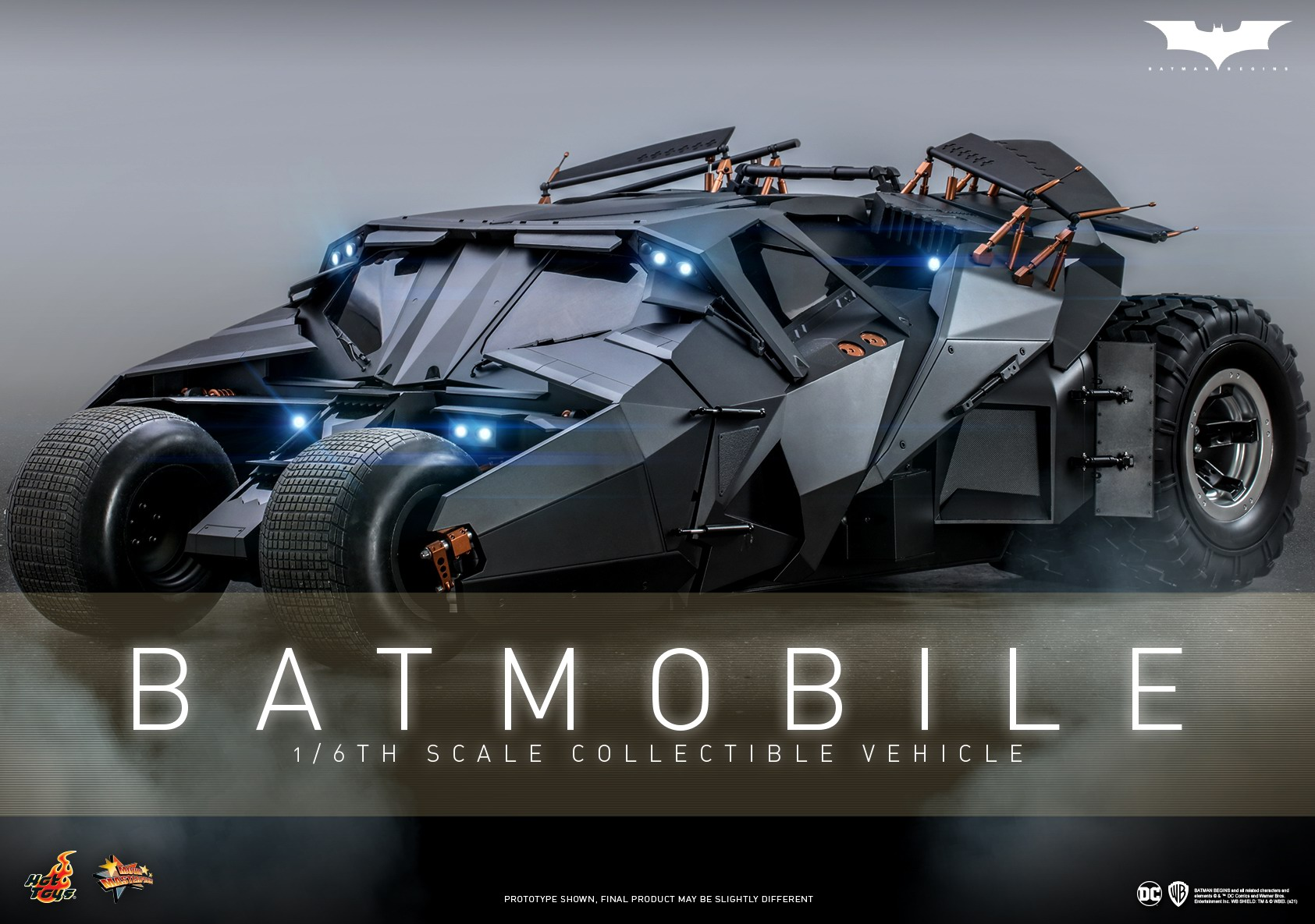 Hot Toys - Batman Begins - Batmobile collectible Vehicle_Poster.jpg