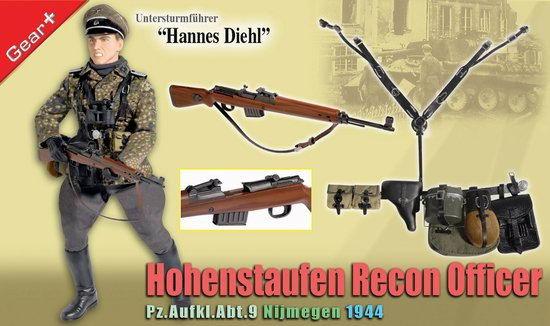 侦??H9/)??!?9?)??,_dml-70699 ss第9 霍亨斯陶芬装甲师 第9装甲侦搜营军官 奈梅亨 1944