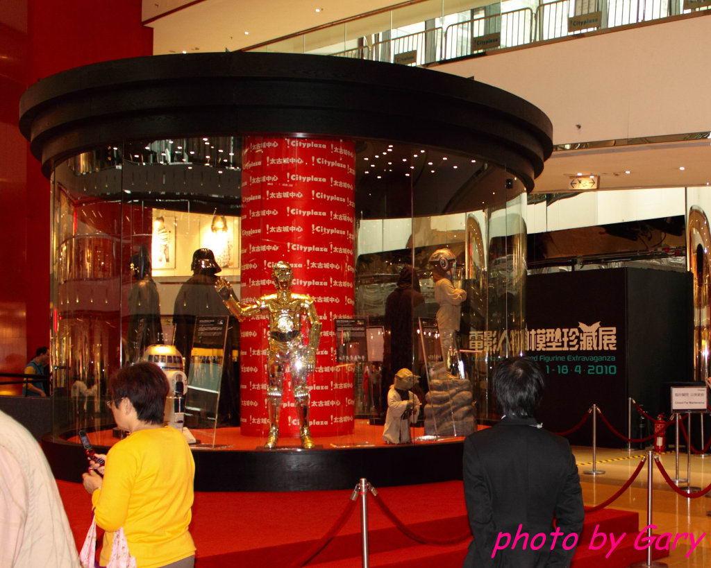 我也来个 私人珍藏电影人物模型展 gary篇 香港站
