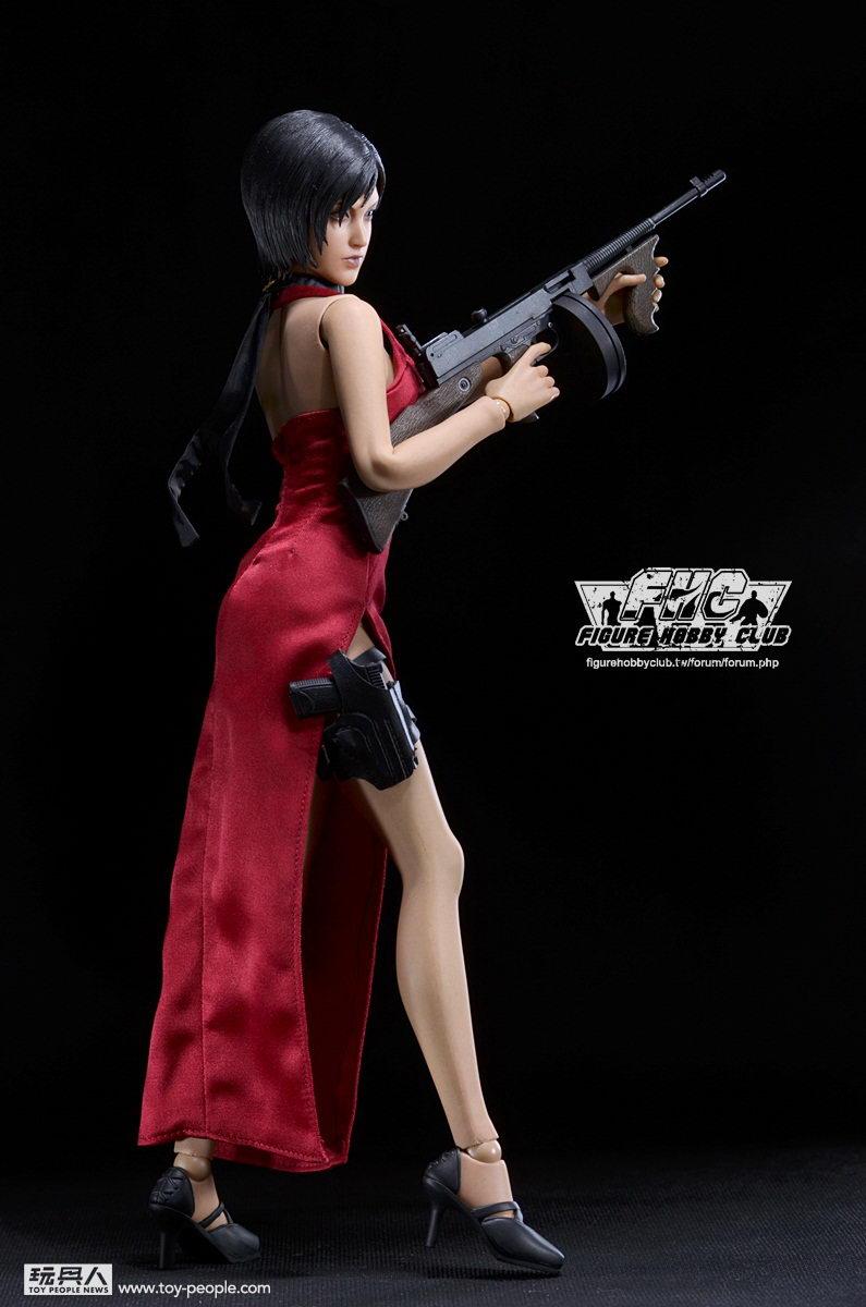 t Toys 游戏 生化危机4 HD版 艾达 王 Ada wong